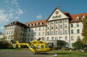 Prof. - Christian Rainer Wirtz - Universitätsklinikum Ulm - Chirurgisches Zentrum - Außenansicht