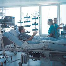 Prof. - Jürgen Ennker - HELIOS Herzzentrum Siegburg - Patientenzimmer