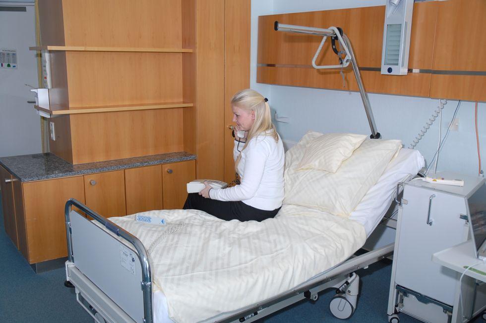 Univ.- - Ulrich Stöckle - BG Klinik - Berufsgenossenschaftliche Unfallklinik Tübingen - Patientenzimmer