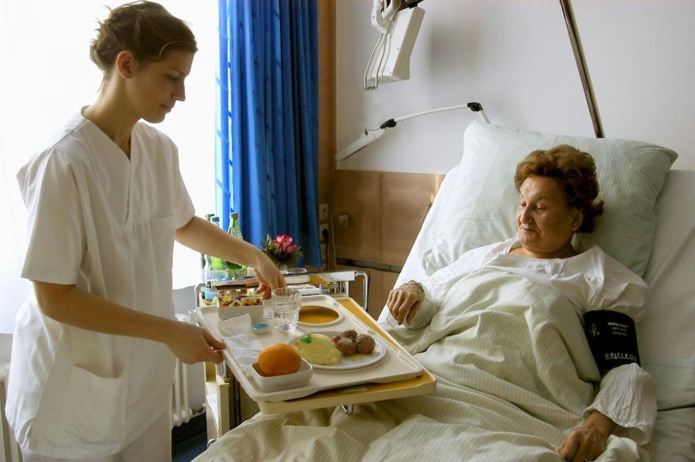 Prof. - Heinz Günther Jakob - Universitätsklinikum Essen - Westdeutsches Herz- und Gefäßzentrum - Patientenzimmer