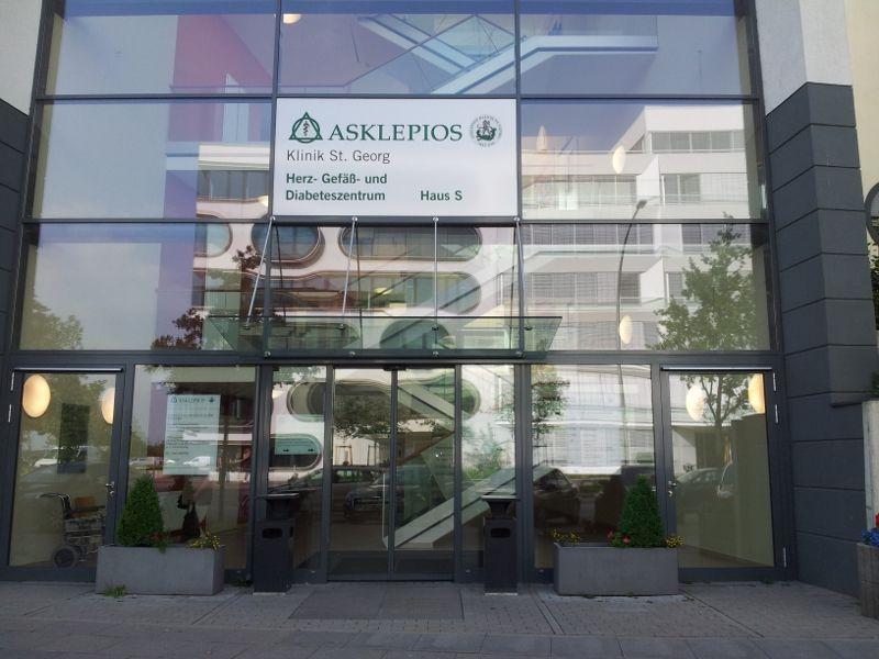 Prof. - Karl-Heinz Kuck - Asklepios Klinik St. Georg - Außenansicht