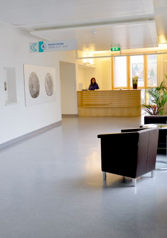 Prof. - Thomas Gasser - Kantonsspital Liestal, Baselland - Empfangsbereich