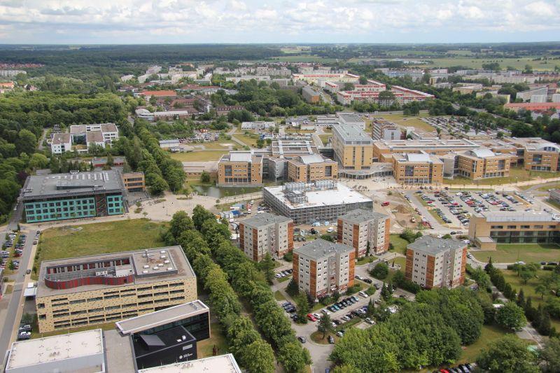 Prof. - Winfried  Barthlen - Universitätsmedizin Greifswald - Außenansicht