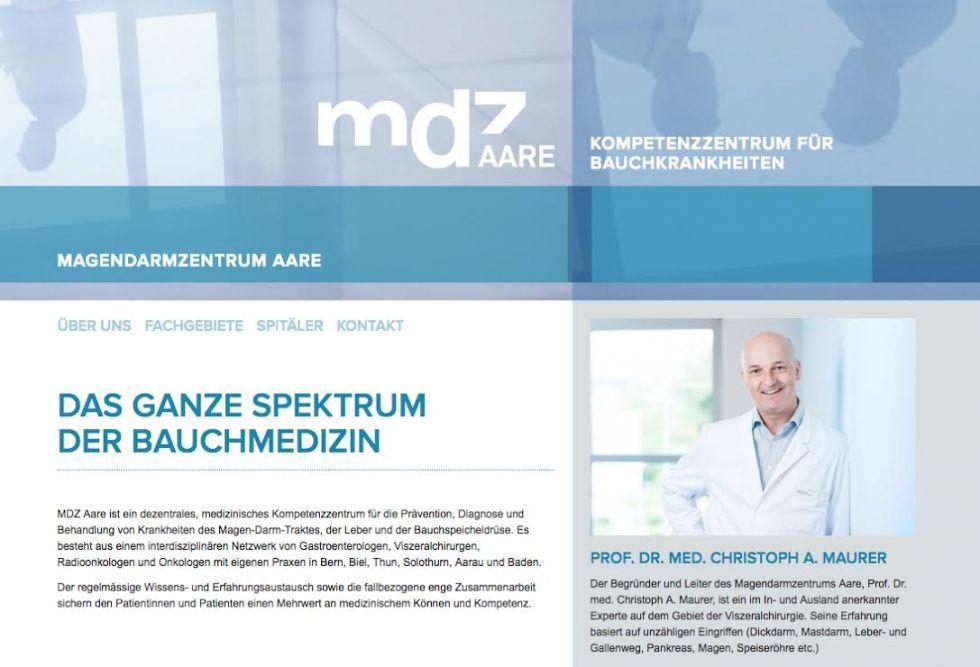 Prof. - Christoph A. Maurer - Magendarmzentrum Aare