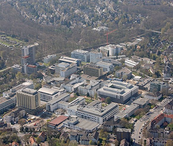 Prof. - Herbert Rübben - Universitätsklinikum Essen - Klinikgelände