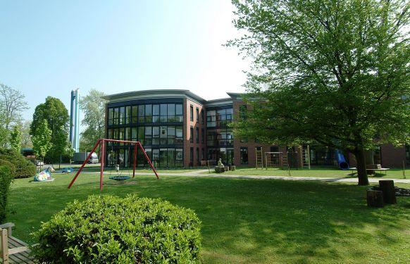 Prof. - Eckard H. Hamelmann - Evangelisches Krankenhaus Bielefeld - Außenansicht