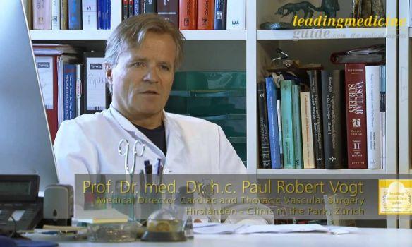 Prof. Dr. med. Dr. h.c. Paul Robert Vogt - Zürich